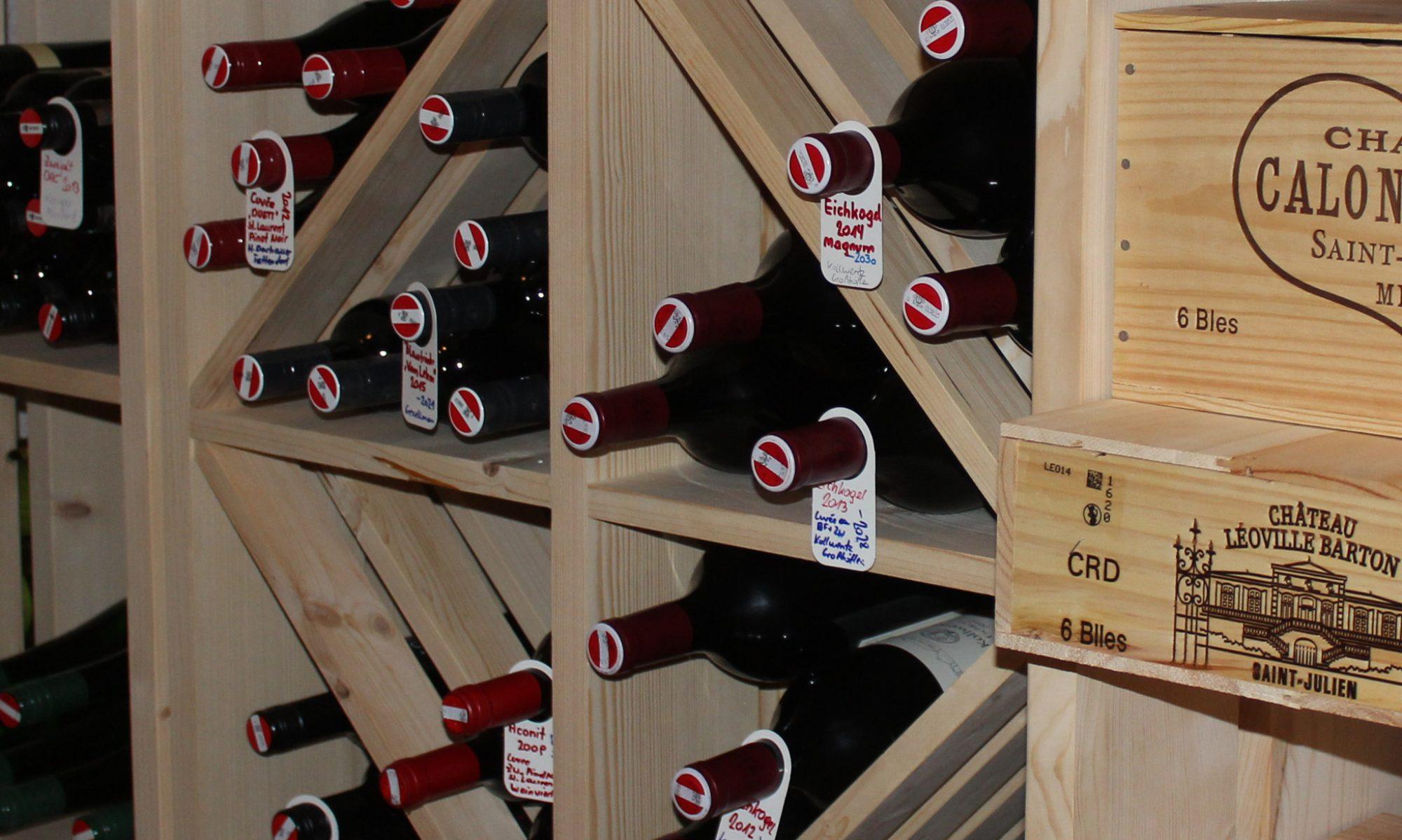 Oberwagner - Wein - Lagerung