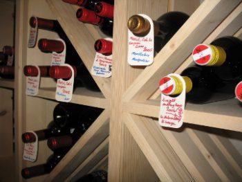Weinflascheanhänger